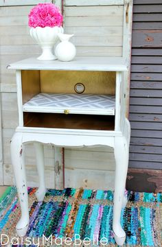 Painted Telephone Table