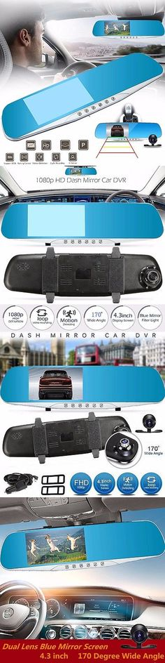 Rear View Monitors Cams and Kits: 4.3 Rear View Mirror Monitor Hd 1080P Car Dvr Camers Recorder Backup Camera -> BUY IT NOW ONLY: $35.99 on eBay!