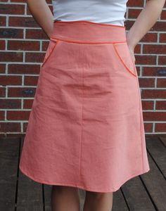 colette ginger skirt