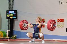 My favorite olympic lifter, Lidia Valentin - Espana/ Spain