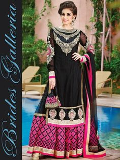 Beautiful Anarkali Suit 2015 For Girls By Brides Galleria