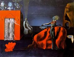 Singularities by Salvador Dali (1904-1989, Spain)