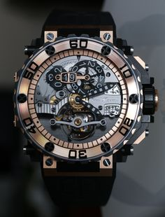 """Cecil Purnell Pit Lane Tourbillon Watch Review It is called the """"Pit Lane"""" and it has a tourbillon. That pretty much sums the personality of this Cecil Purnell brand timepiece I am about to review. Priced at about $200,000 and designed to be wild, what you are looking at is more than a simple timepiece, but an example of luxury watch art..."""