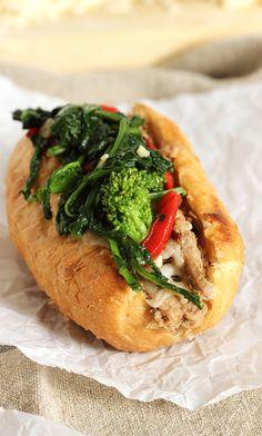 Philly Style Roast Pork Sandwich | The Suburban Soapbox #slowcooker