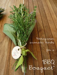 Special bouquets aromatic herbs from our garden
