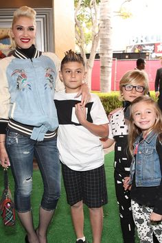 Gwen Stefani and Her Sons Step Out to Support Blake Shelton at His Movie Premiere