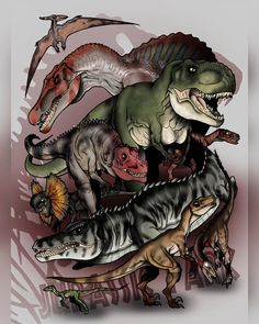 Jurassic Park Tattoo, Jurassic Park Trilogy, Jurassic Park Poster, Jurassic World Trailer, Jurassic World Dinosaurs, Jurassic Park World, Ark Survival Evolved Bases, Disney Canvas Art, Dinosaur Wallpaper