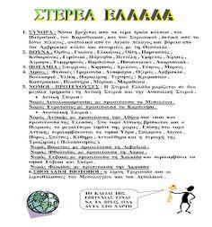 Δ' ΤΑΞΗ 2ου ΔΗΜΟΤΙΚΟΥ ΑΡΧΑΝΩΝ: Μελέτη Δ΄ Επανάληψη 1ης ενότητας: ΄΄ Ελλάδα - η χώρα μας ΄΄