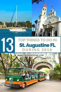 13 Top Things to Do in St Augustine Florida 2018 including the Rhythm and Ribs Festival, Fourth of July Fireworks, Potter's Wax Museum, Ponce de Leon's Fountain of youth Archaeological Park and more. Florida Keys, Visit Florida, Florida Vacation, Florida Beaches, Palm Coast Florida, Florida Trips, Sandy Beaches, Clearwater Florida, Flagler Beach Florida