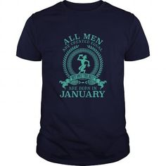 Cool and Awesome All men are created equal but the best are born in January Capricorn Shirt Hoodie
