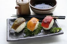 Vegetarian (Pepper) Sushi