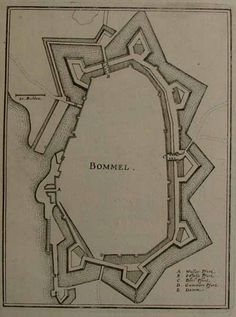 Bommel walled City Map