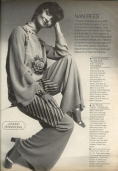 US Harper's Bazaar November 1974: Nan Rees by Neal Barr - the Fashion Spot