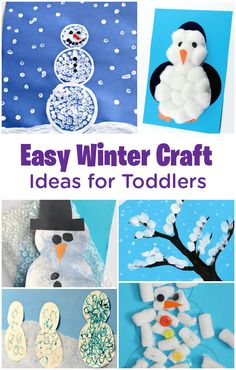 We know there's no way you're going to make it to lunch on a freezing winter day without some indoor activities and distractions for your cooped-up kiddos. Luckily, these easy crafts are here to save the day—they are simple to do and easy to clean up! Breathe easy: a peaceful, indoors-only day is on its way.