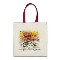 Saved by Grace Bag