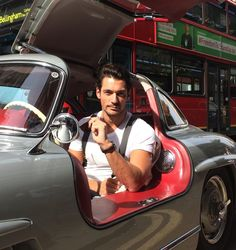 Twitter / thegentsjournal: David Gandy knows how to travel in style, piloting a @Mercedes-Benz – The best or nothing Gullwing @Laura Jayson Jayson Jayson Terry @DavidGandyAsst #lcm - june 17, 2014