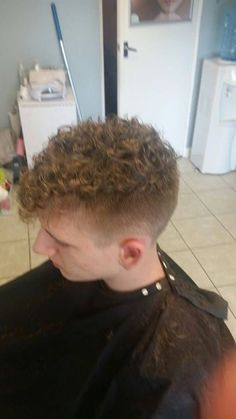 1980s Men S Hair Was Permed And Also Saw The Birth Of The