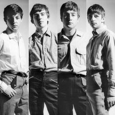 The Beatles...before they knew how big they would become.... wow