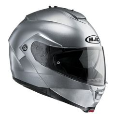 Casco modulare argento HJC IS-MAX II Metal / CR SILVER
