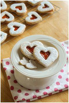 Guava Hazelnut Valentine Cookies | More Chocolate