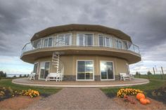 home exchange #1032: Canada, Prince Edward Island. The world's first & only Rotating House now ready for home exchange!