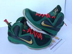 nike lebron 9 unrelesed green christmas sample 06 570x427 Nike LeBron 9  Unreleased Green Christmas Sample 3ce50f915a