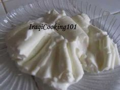 ▶ how to make Iraqi Qemar creme recipe طريقة القيمر العراقي الذيذ - YouTube