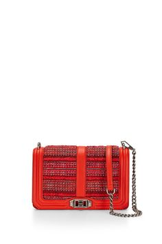 7be174bf511a Tweed Love Crossbody - Meet your new going-out bag. Featuring eye catching  hardware