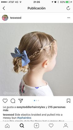Another great hairstyle. You are in the right place about toddler hairstyles girl long Here we offer Easy Toddler Hairstyles, Baby Girl Hairstyles, Great Hairstyles, Girls Hairdos, Crazy Hair, Hair Dos, Girly Girl, Hair And Nails, Hair Inspiration