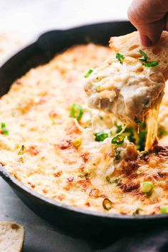 Insanely Delicious Hot Crab Dip Hot Crab Dip makes the perfect party appetizer. This delicious and addicting crab dip is ready in just 30 minutes and will instantly wow the entire crew! Hot Crab Dip Football season is here. The only thing that makes me Hot Crab Dip, Shrimp And Crab Dip, Cajun Crab Dip, Old Bay Crab Dip, Crab And Artichoke Dip, Spicy Shrimp, Appetizer Dips, Appetizers For Party, Appetizers