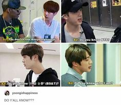 JIN funny bts @arillys