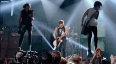 AND THEY JUMPED IN THE AIR LIKE THIS. | 27 Times 5SOS Melted Fangirls' Hearts At The Billboard Music Awards