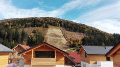 𝐒𝐮𝐦𝐦𝐞𝐫 𝐓𝐡𝐫𝐨𝐰𝐛𝐚𝐜𝐤 zum Bau unserer Katschberg Lodges 🤓⚒ #throwback #katschberglodge #wirsetzendembergdiekroneauf Spa, Lodges, Cabin, House Styles, Summer, Home Decor, Summer Vacations, Ski, Recovery