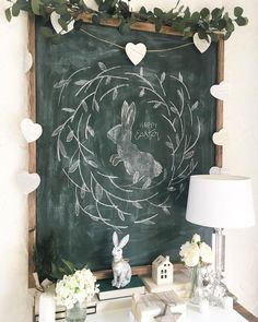 Uk seller Easter spring time chalkboard wall art Extra large any text wall art wood sign framed love quote gift wood wall sign rustic bedroom home decor wall plaque wooden sign Large Chalkboard, Chalkboard Designs, Chalkboard Decor, Chalkboard Wedding, Easter Art, Easter Decor, Wooden House Decoration, Chalkboard Wall Bedroom, Sidewalk Chalk Art