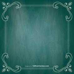 Free Chalkboard Template Chalkboard Template, Chalkboard Vector, Chalkboard Art Quotes, Chalkboard Drawings, Vector Free Download, Free Vector Art, Chalkboard Background, Art Images, Clip Art