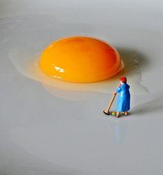 Small people by Bettina Güber, via Behance