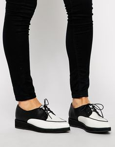 ASOS+MALLORY+Creeper+Lace+Up+Shoes