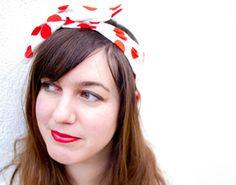 DIY foulard à cheveux - DIY : comment fabriquer un headband ? - accessoires femmes