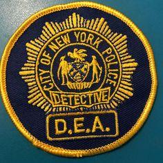 Metropolitan Transortation Authority Police New York Obsolete Shoulder Patch