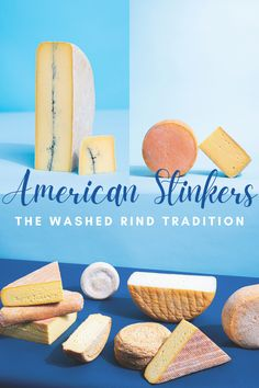 """Washed-rind wheels are a cheese nerd's most sought-after style, with """"stinky"""" the primary watchword uttered by someone looking to get insider treatment at a cheese counter. Read about how this centuries-long tradition recently made its way to the states. Cheese Art, Farmhouse Ale, American Cheese, How To Make Cheese, Goat Milk, Counter, Wheels, Nerd, Traditional"""
