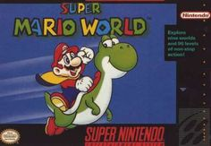 Buy Super Mario World for the Super Nintendo. Original and authentic game cartridge. This classic Super Mario platformer is the best-selling SNES game of all time. Super Mario Bros, Super Mario World Game, Super Nintendo Games, Nes Games, Sega Genesis, Cartoon Network, Yoshi, Playstation, Xbox 360