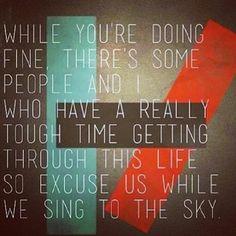 Twenty One Pilots Lyrics Holding Onto You