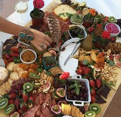 Plank it! French Cheeseboard Summer Party Menu wedding photography , Plank it! French Cheeseboard Summer Party Menu Plank it! Party Platters, Cheese Platters, Cheese Table, Party Trays, Party Buffet, Brunch Buffet, Tapas Buffet, Tapas Menu, Buffet Set
