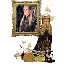 Legolas - The Hobbit/Lord of the Rings<333 by portugueseandnativeamericanchick on Polyvore featuring Giuseppe Zanotti, Dolce&Gabbana, JOANNA DAHDAH, Danielle Stevens, River Island, Alexander McQueen and Alicialordoftheringssets