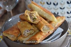 brick à la viande hachée et mozzarella, brick viande hachée mozzarella recette au curry, paprika et coriandre fraiche facile pour ramadan