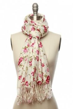 laceaffair.com  The Rosiest Remedy Scarf in Pink