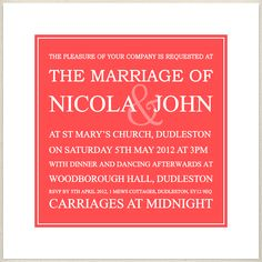 coral, cayenne, wedding invite, £1.60, #weddinginvitation
