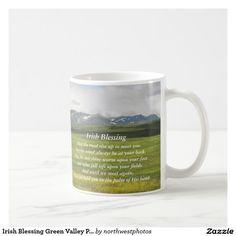 Irish Blessing Green Valley Photo Coffee Mug