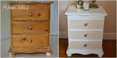 upcycle a bedside cabinet