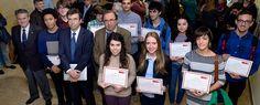 Entregadas las becas Pablo Artal para estudiantes con talento en Ciencias (01/12/2016)